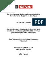 Instrumentacao 2008 - Plano de Curso