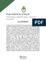 Godoy Jorge o y Otro s. Abuso de Autoridad y Violacion Deberes de Funcionario Publico