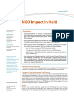 Fact Sheet NGO Impact in Haiti Short