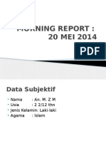 Morning Report 21 Mei 2014