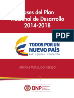 PND 2014-2018 Todos Por Un Nuevo País