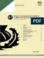 guideline for pediatric epilepsy
