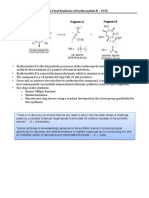 Corey's Total Synthesis of Erythronolide B – 1978