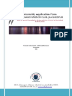 KNUC Internship Form 2015