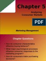 Chapter 5 Analysing Consumer Markets