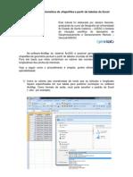 Criação Shapefiles a Partir de Tabelas Excel