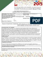 Job Safety Assessment Form Cemcar 2015 Revisi 1