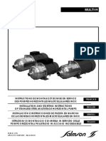 Salmson pumps_Multi-H - Installation Manual