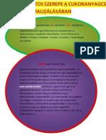 Tápanyagok Fontos Szerepe a Cukoranyagcsere Normalizálásában 10