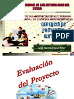 10.Ger Proyectos XIII 2015 Evaluacion Proyectos