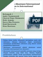 Perkenalan Akuntansi Internasional (Kelompok 1)