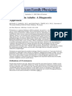 Proteinuria in Adults and Diagnostic Approach