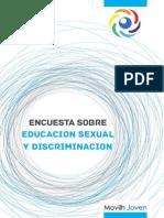 Encuesta Sobre Educacion Sexual y Discriminacion