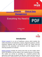 Clinical Research and Clinical Data Management - Ikya Global