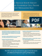 Cell Phone and Messaging Ban