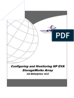 Configuring and Monitoring HP EVA StorageWorks Array
