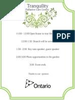 dead event agenda