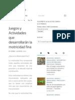 Juegos y Actividades que desarrollarán la motricidad fina.pdf