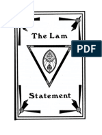 The LAM Statement - Kenneth Grant