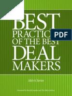 79 Best Practices of Best MA Dealmakers