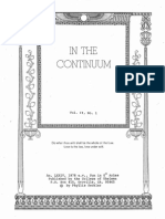 In the Continuum Vol.2 No.1-6