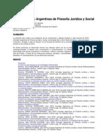 Xxvii Jornadas Argentinas de f