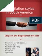 Negocieri in America de Sud