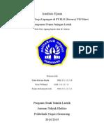 Analisis Ejaan Laporan PKL