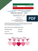 february2015 newsletter