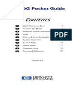 HP49G Pocket Guide