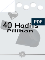 40 Hadits Pilihanku