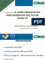 9h25plano de Ações Emergenciais Para Barragens Das Pch Da Cemig Gt - Enviará Versão Para Divulgaç