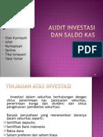 Audit Investasi Dan Saldo Kas