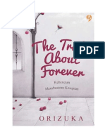 The Truth About Forever - Orizuka