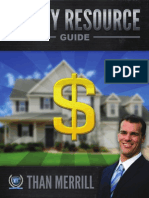 Real Estate Money Resource Guide 09-10-14