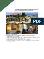 Casas y condominios