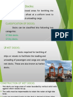 types of docks and their construction
