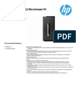 Hp Prodesk 400 g2 4aa5-2756eee
