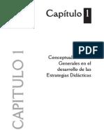 DOCENCIA III Capitulo 1. Conceptualizacion General en el desarrollo de las Estrategias Didácticas.pdf