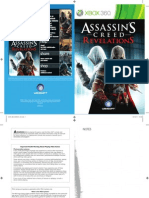 Assassins Creed Revelations Xbox 360 Manual