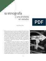 Del 68 La Etnografía y Una Protesta en Estudio