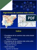 Algoritmo de caminos mas cortos