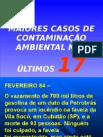 Casos de Poluição Ambiental