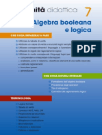 Algebra booleana e logica