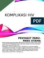 Komplikasi Hiv