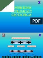 Condiciones Geotecinas y Geologicas