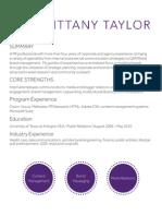 B.Taylor - Portfolio 2015
