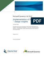 Implementation of Formulas Design Insights c Fbs