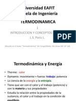 Primera presentacion termodinamica.