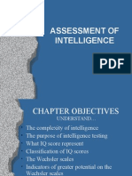 Assessment of Intelligence